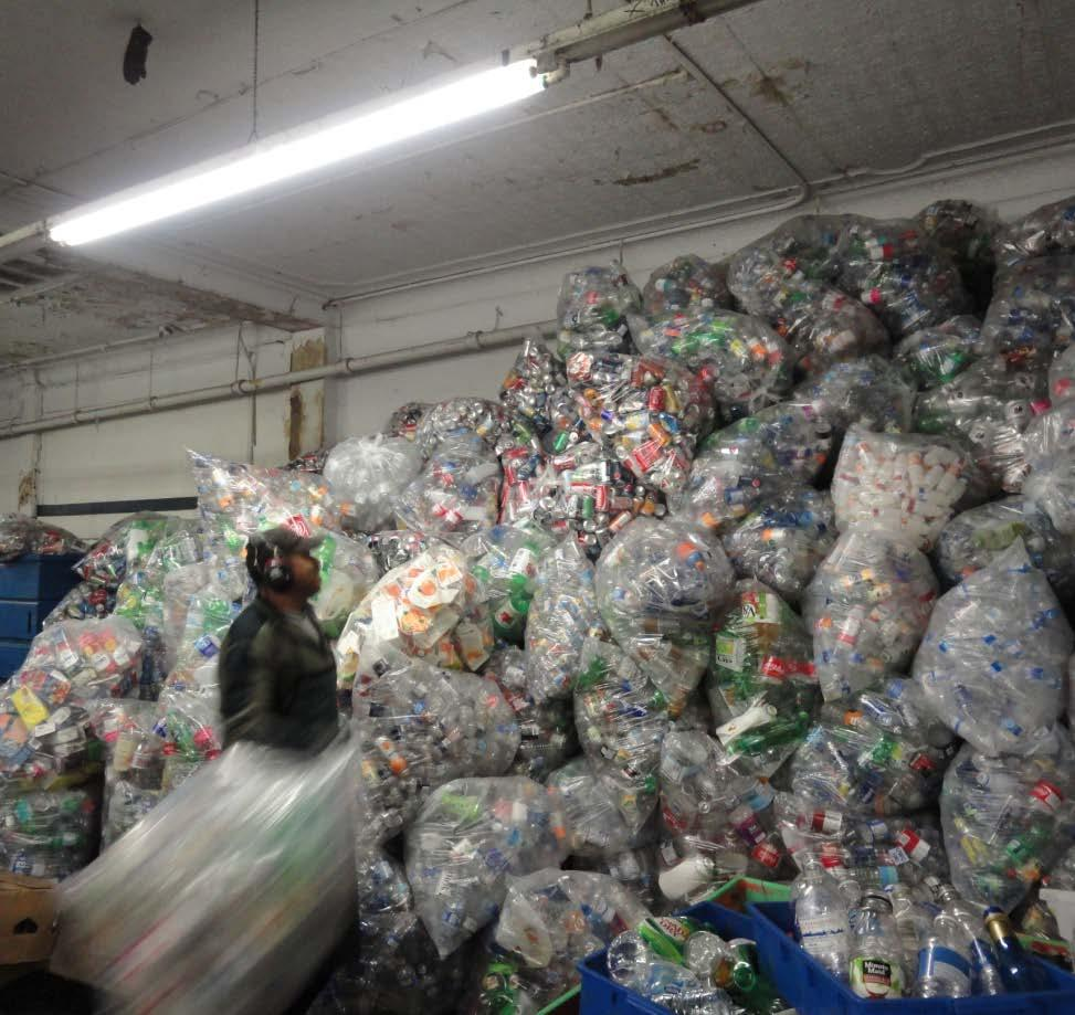 United We Can (UWC) UWC Plays a Critical Role in Vancouver: UWC supports 700 recyclers and directly employs 120 people virtually all are individuals with barriers