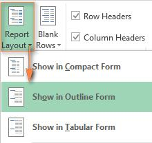Changing the Field List view How to use pivot table in Excel Now that you know the pivot table basics, you can navigate to the Analyze and Design tabs of the PivotTable Tools in Excel 2016 and 2013