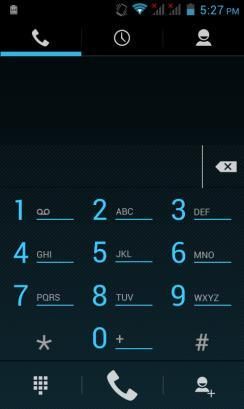 Call Functions At the dial keyboard, enter the phone number and then click the dial key. You may choose which SIM card the call will be placed on.