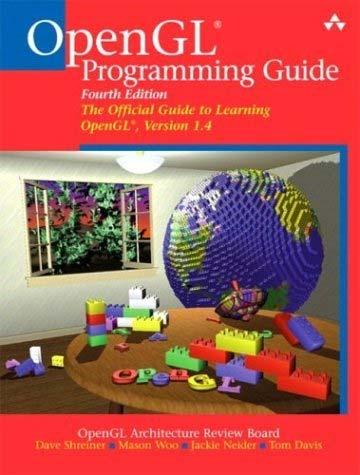 Textbook OpenGL OpenGL Programming Guide Addison-Wesley Professional Version 1.