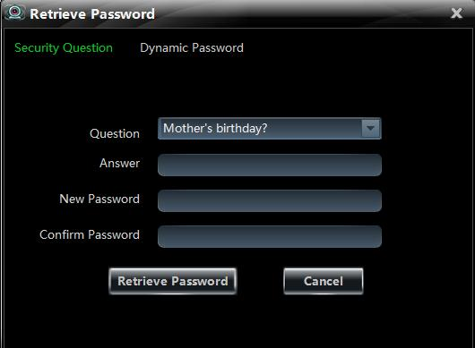If checking Remember Password, there will be no need to input the password when you log in next time. If checking Auto Login, it will log in as current user next time automatically.