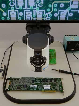 Power your productivity EVO Cam II high definition digital microscope EVO Cam II digital microscope delivers excellent image quality to help uncover hidden details.