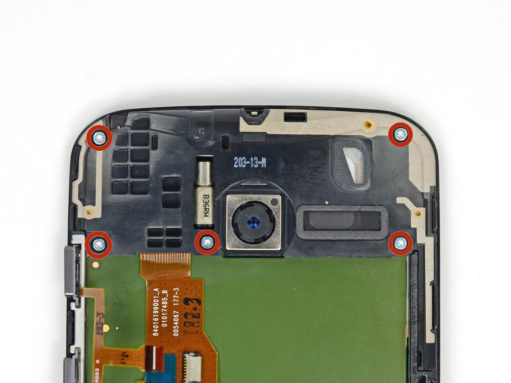 When reassembling your phone secure the battery with double-sided tape or