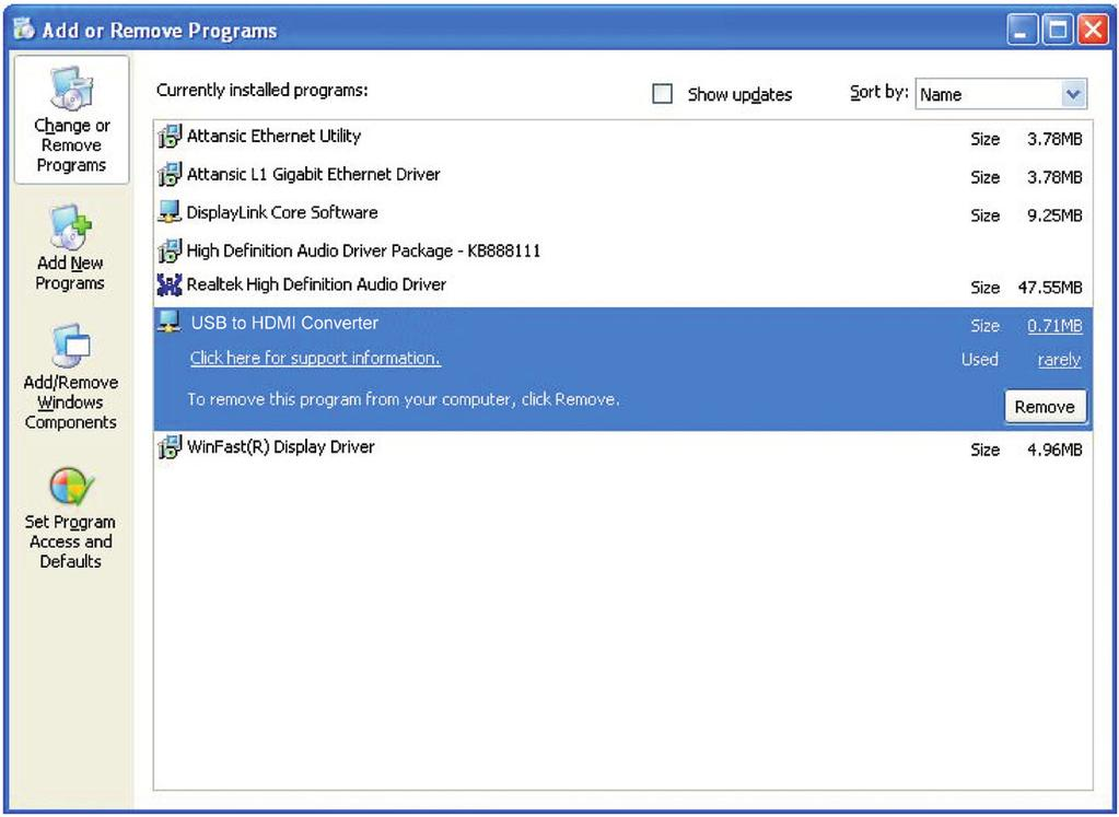 11. Uninstall the Device Driver Follow the steps below to uninstall the