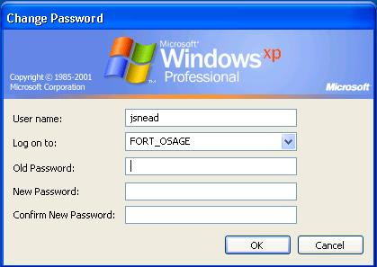 Enter your Old Password and your New Password in the respective boxes.