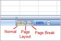 To Change Page Views: 1. Locate the Page View options in the bottom, right corner.