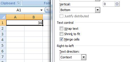 How to Merge Cells? 1. Select the cells that you want to merge. 2.