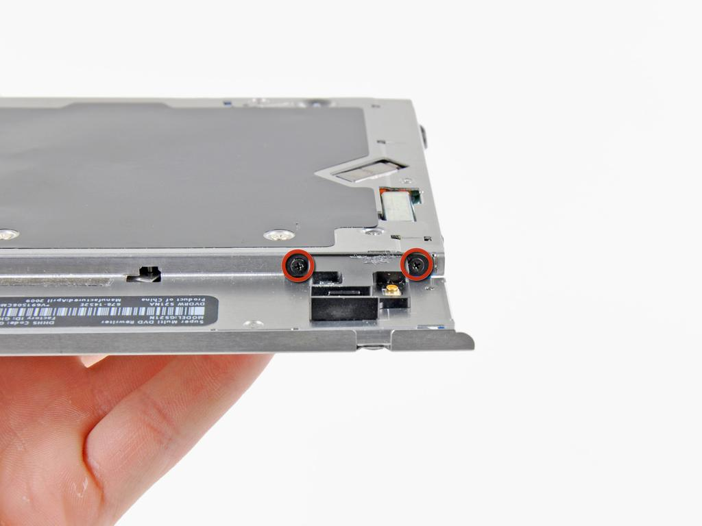 Transfer this bracket to your new optical drive or hard drive