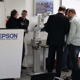 WOULD YOU LIKE TO ARRANGE AN APPOINTMENT? CALL US AT +49 2159 538 1800 OR SEND AN E-MAIL TO info.rs@epson.