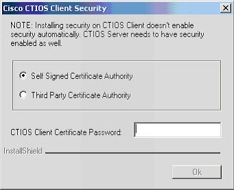 Cisco CTI Toolkit Desktop Client Component Installation Chapter 3 Release 7.