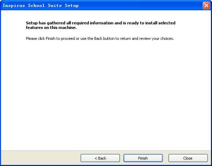 select Central Inspirus school server. If not, please select Teacher s or School staff machine to proceed.