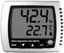 testo 608-H1 / testo 608-H2 The affordable standard testo 608-H1 hygrometer measures humidity, temperature and dewpoint non-stop.