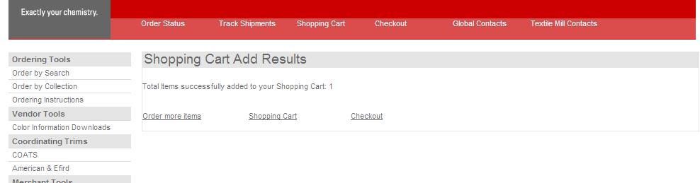 "9. To view the shopping cart, click the link that says ""Shopping Cart"" on the results page or on the top"