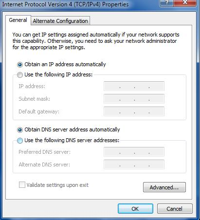 4. Two ways for configuring the IP address of PC.