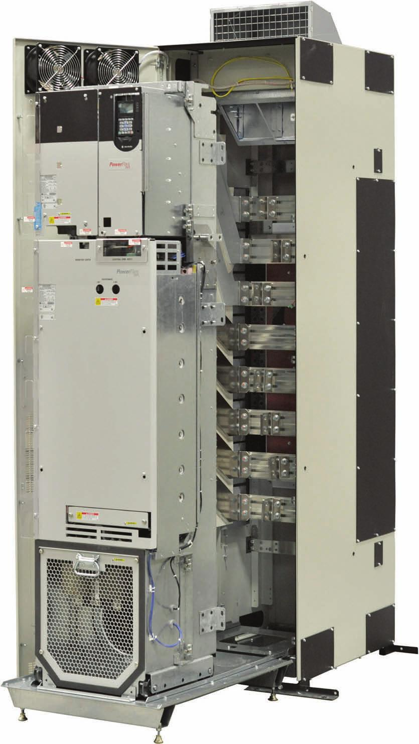 Powerflex 750 Series Ac Drives Pdf 753 Control Wiring Diagram Power Stays Connected While Unit Is Rolled Out Adjustable Terminals Provide Flexibility For Preferences
