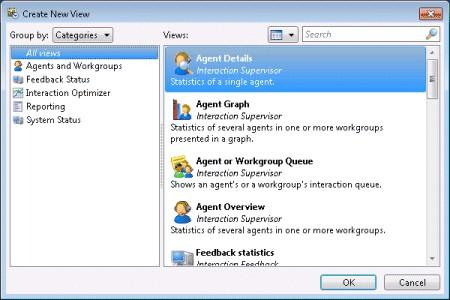 Manage Views About Views Displays of information in IC Business Manager are called views.