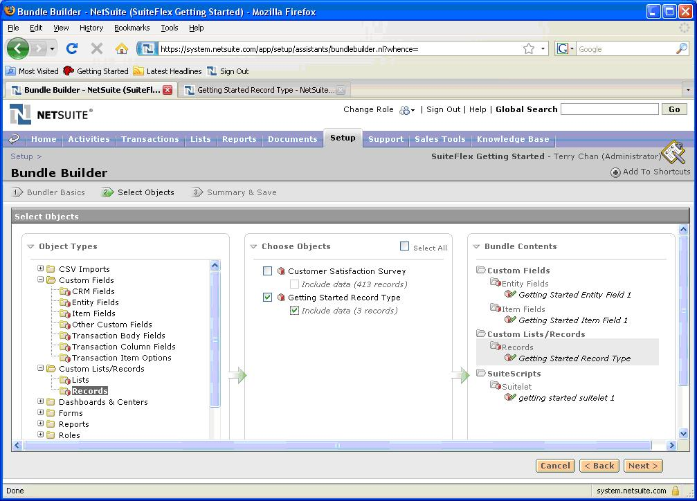 Getting Started with SuiteFlex  March 18, 2009 Release 2009 Version