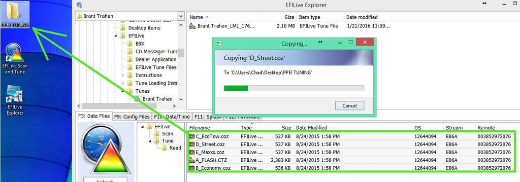 Loading Edctz Orz Tune Files Onto Your Autocal Or V2 Step 1