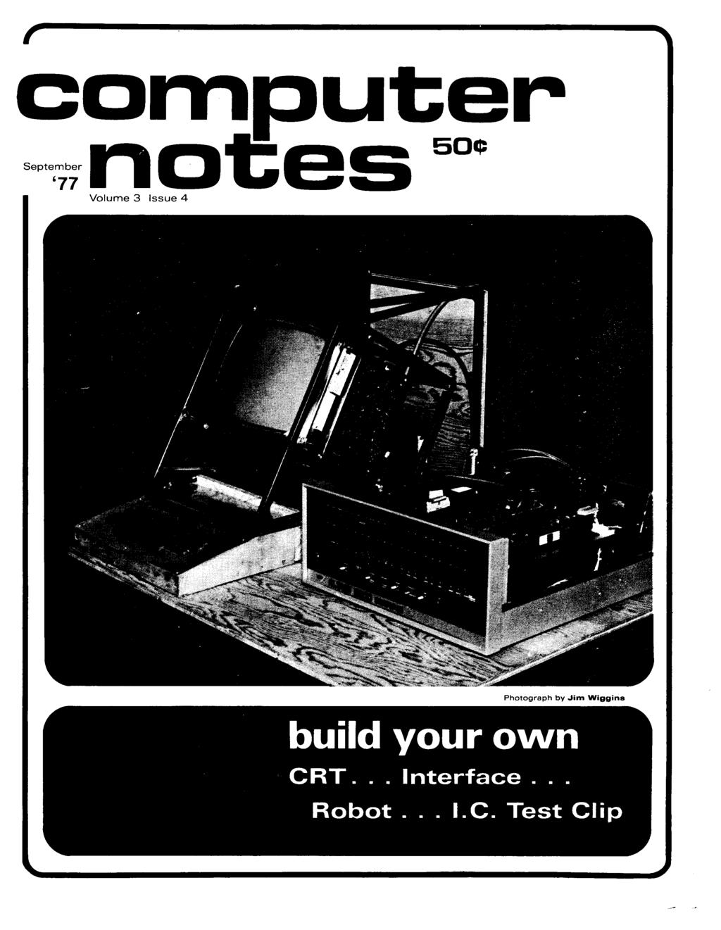Computer Build Your Own Sepebn Aces 50 Crt Interface Building Door Control Circuit Free Electronic Circuits 8085 Volume 3 Issue