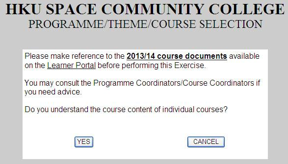 HKU SPACE Community College Instructions for Using the