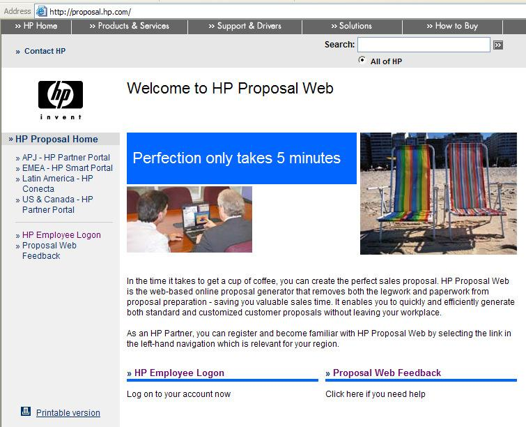 HP Proposal Web Overview - PDF