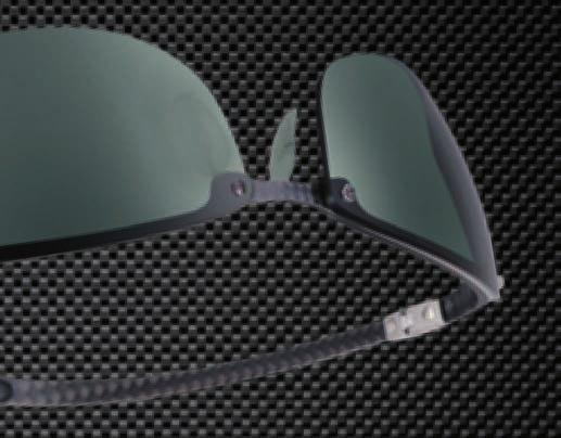 d4a1043ce67c7d Fibre reinforced plastic resin sheets are featured in Ray-Ban s Carbon  Fibre wrap temples