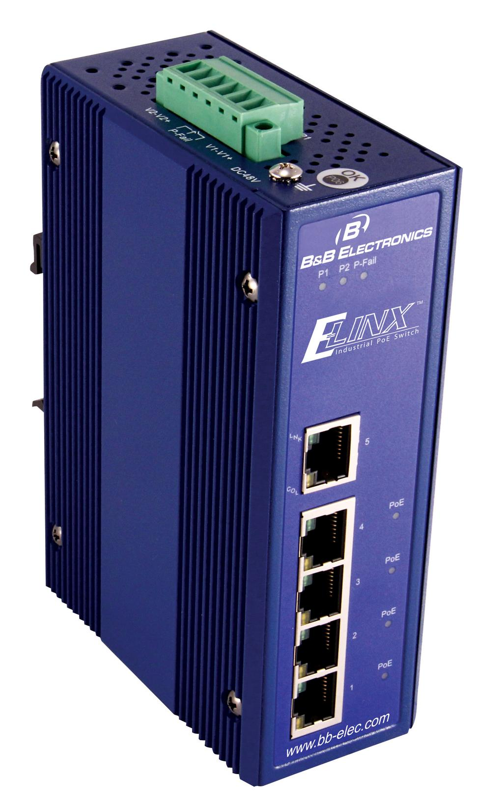 Manual Elinx Eirhp305 T 5 Ports10 100 With 4 Poe Ports Unmanaged Reference Design For Poweroverethernet Midspan Or Endpoint