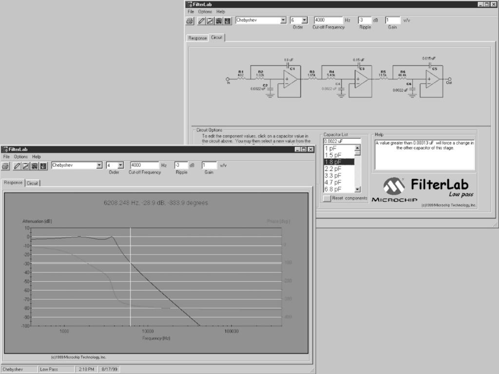 Introduction 1 Microchip Internet Connections Pdf Pickit Circuit Diagram Software Tools Www Filterlab Active Filter Design Tool Is An Innovative That