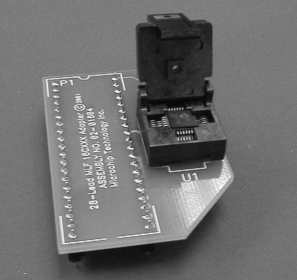 Introduction 1 Microchip Internet Connections Pdf Pickit Circuit Diagram Ac164024 68 Pin Plcc Adapter Kit Ac164027 84 Ac164031 28