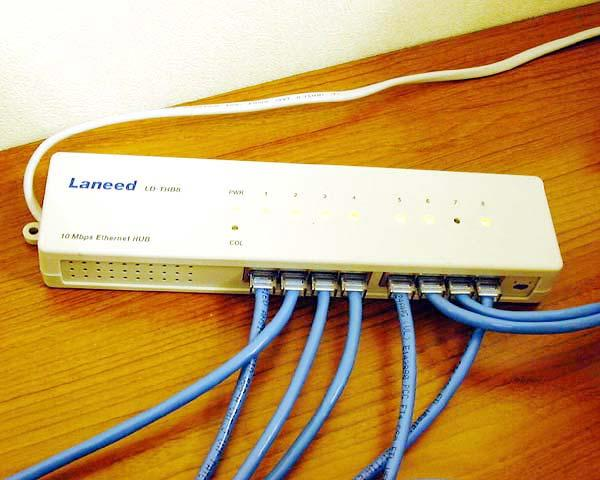 LAN Wiring NICs! Built for a specific network technology!