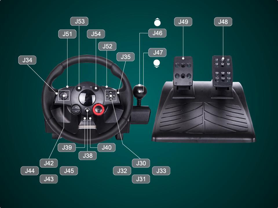 Instructions on steering wheel support - PDF