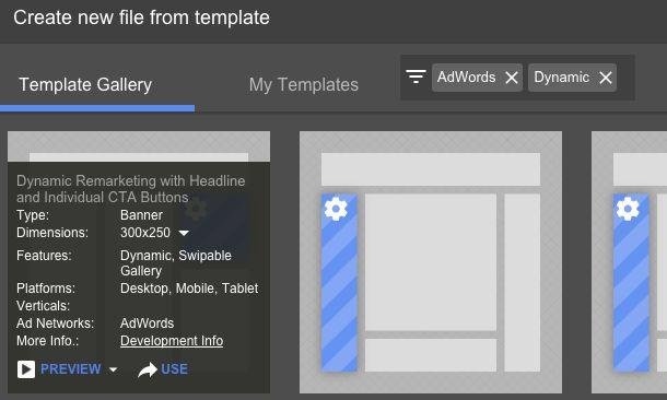 Google web designer dynamic ads in adwords build guide pdf starting with a template is important in order to ensure the necessary base code is included maxwellsz