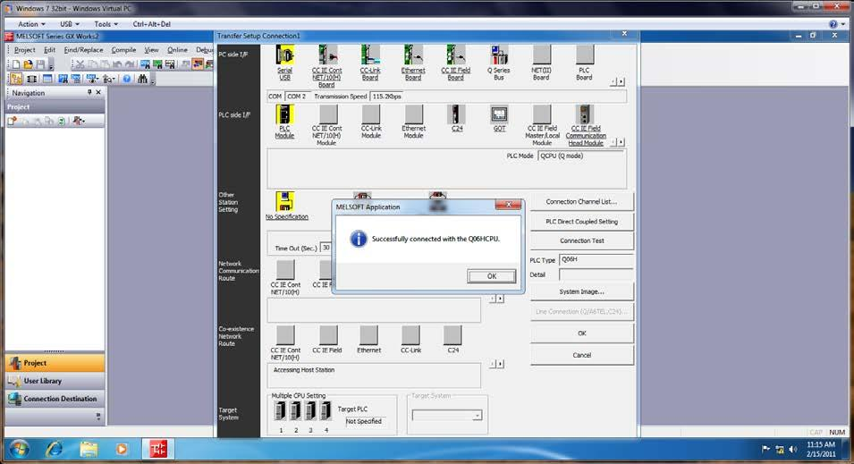 Technical Bulletin Installing GX Works2 V1 48a on a Win7 64