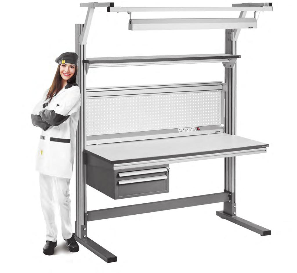 Technical Esd Furniture Pdf Wire Harness Assembly Workbench Alliance Series Workbenches Easy To Make A Right Choice