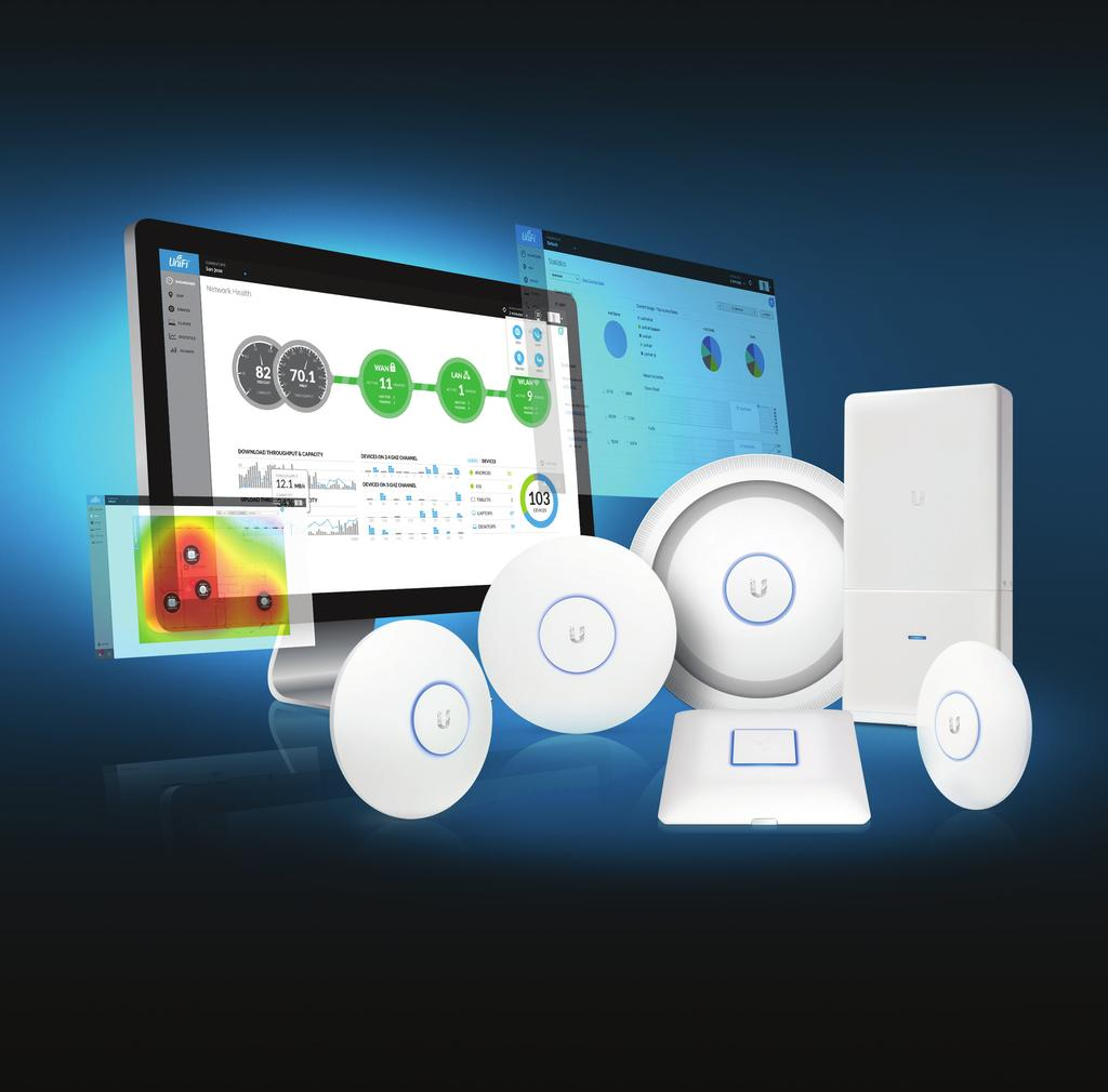 802.11ac Dual-Radio Access Points Models: UAP-AC-LITE, UAP-AC-LR, UAP-AC, UAP-AC-EDU, UAP-AC-PRO, UAP-AC-Outdoor Unlimited