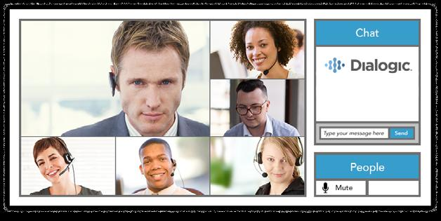 Reservationless On-Demand and Scheduled Conferencing The all-in-one, high-definition multimedia conferencing solution allows customers to communicate how they want and when they want using voice,