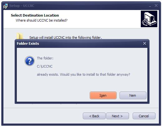 UCCNC software installation and user's guide - PDF