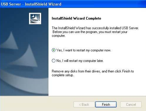 3.1.6 Setup wizard will be completed automatically, please click Finish.
