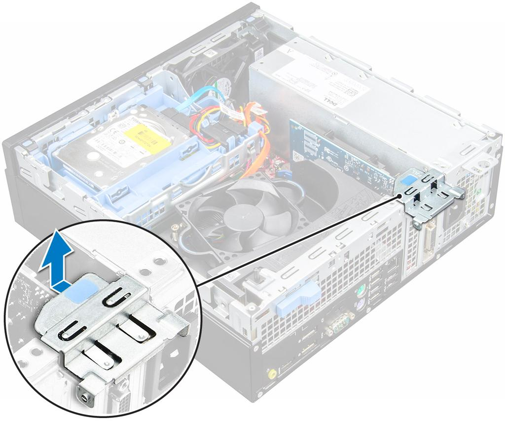 Optiplex 7050 Small Form Factor Pdf Dell E7470 As Well Block Diagram Additionally Hp Laptop Parts 4 To Remove The Expansion Card A Pull Release Tab At Base Of