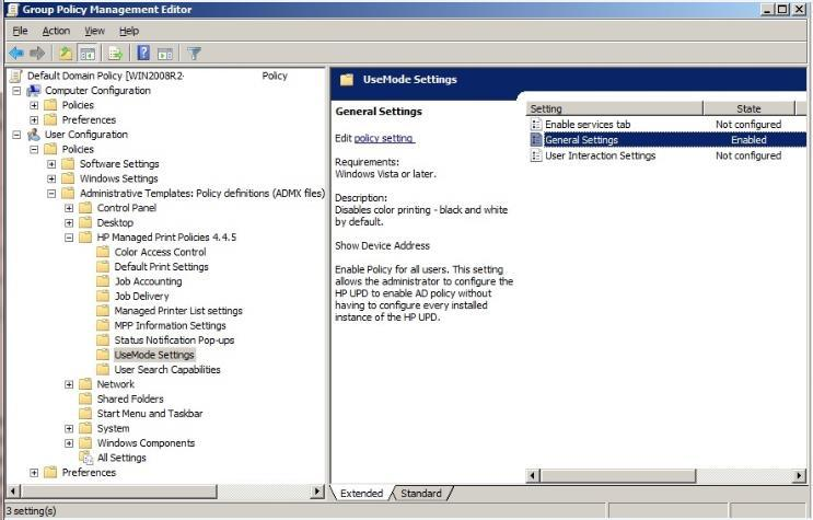 SYSTEM ADMINISTRATOR S GUIDE For HP V3 UNIVERSAL PRINT