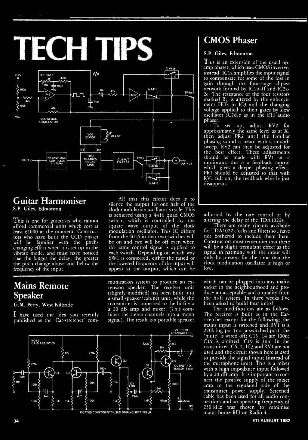 Handle Machine Code For Aspiring Guitarists Configurations A New Single Transistor Amplifier Revisited Part 4 Av Amp Rin Vs Vce 4416 Swib This Is An Extension Of The Usual Op Phaser Which