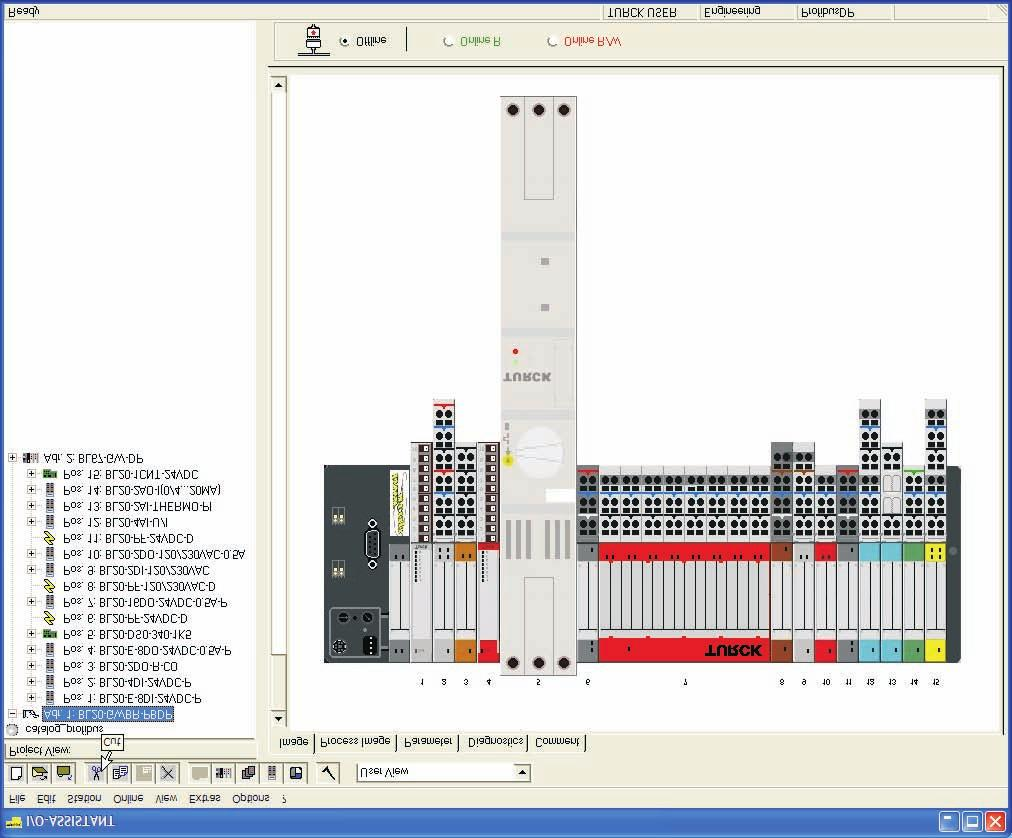 Turck Modular Industrial I O Profibus Dp Products Pdf Sensor Wiring Diagram Pnp Automation Bl20 Stations Turcks Is A User Configurable Network