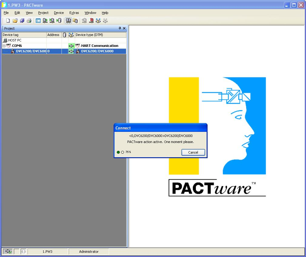 Installing Valvelink Software Solo Snap On Dvc 2000 Positioner Wiring Diagram Devicedtm Highlighted Select Connect As