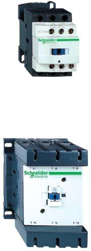 TeSys Contactors LC1D Khởi động từ TeSys loại LC1D D contactor for motor control up to 75kW at 0 V, in category AC3 Control circuit: A.C., D.