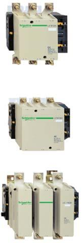 Contactor TeSys Contactor LC1F F contactor for motor control up to 4kW at 0 V, in category AC3 Control circuit: A.C., D.