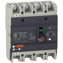 Easypact EZC Range Easypact EZCV2 ELCB EasyPact EZCV2 MCCB builtin earth leakage protection Compliance with IEC 9472, JIS C 8201, NEMA AB1 Breaking capacity at 415V: 25, 36kA Non adjustable thermal