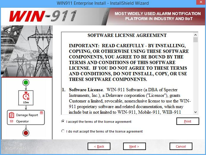 WIN-911 Enterprise Installation - PDF