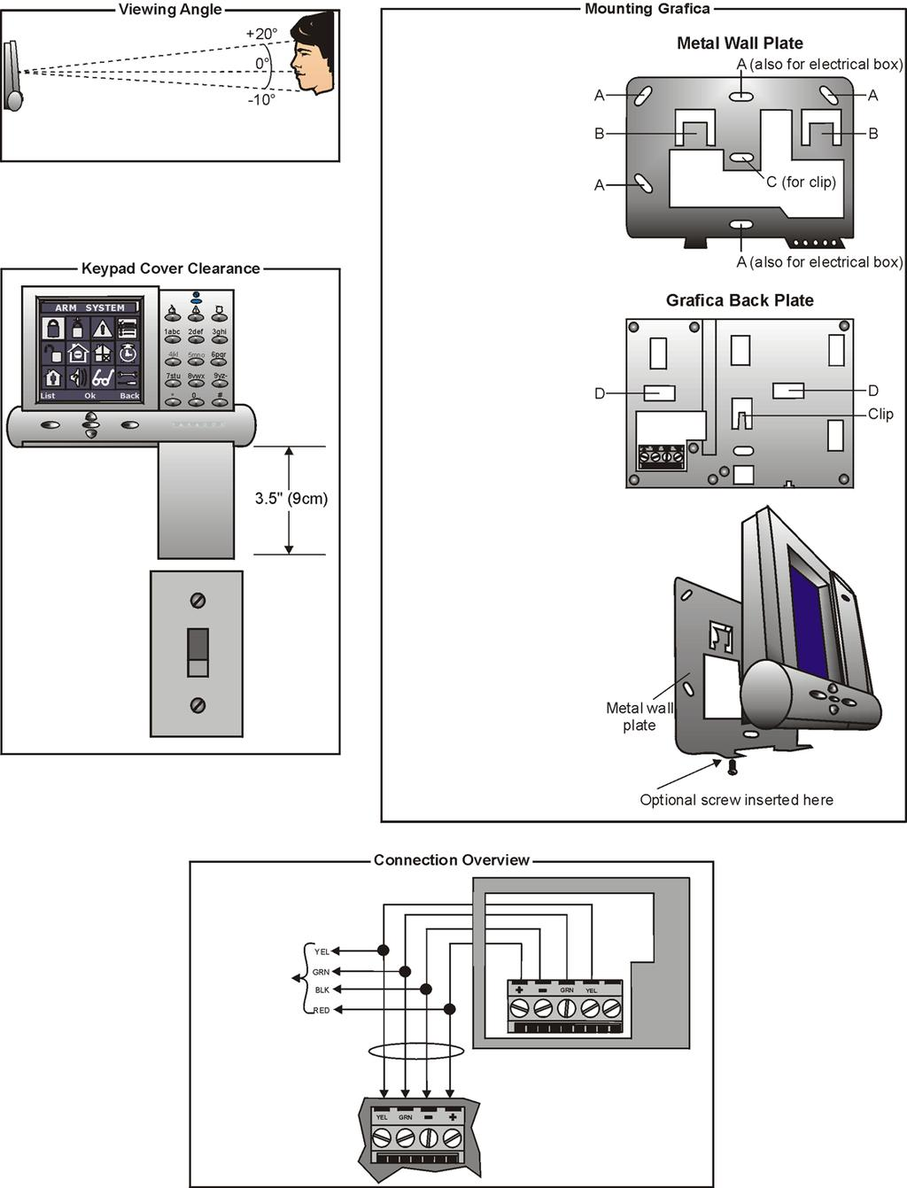 Modules Programming Guide Paradoxcom Pdf Block Diagram Sbd Power Substation Control Ticom Grafica Graphic Lcd Keypad Module Dne K07 Please Note The
