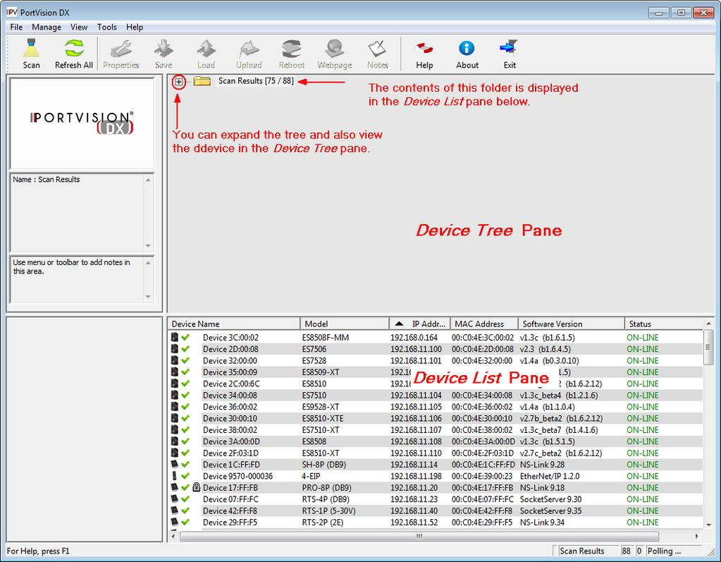 Installation And Configuration Guide Pdf Power Over Ethernet Rocketlinx Devicemaster Serial Device Server Configuring The Network Settings 6 Highlight For Which You Want To Program