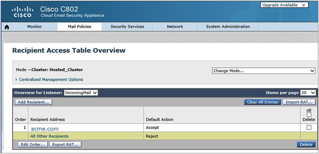 How-To Configure Message Routing Between Cisco Security in the Cloud